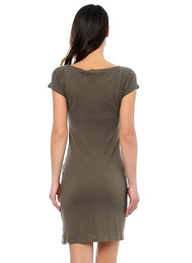 Asymmetry Elbise Haki